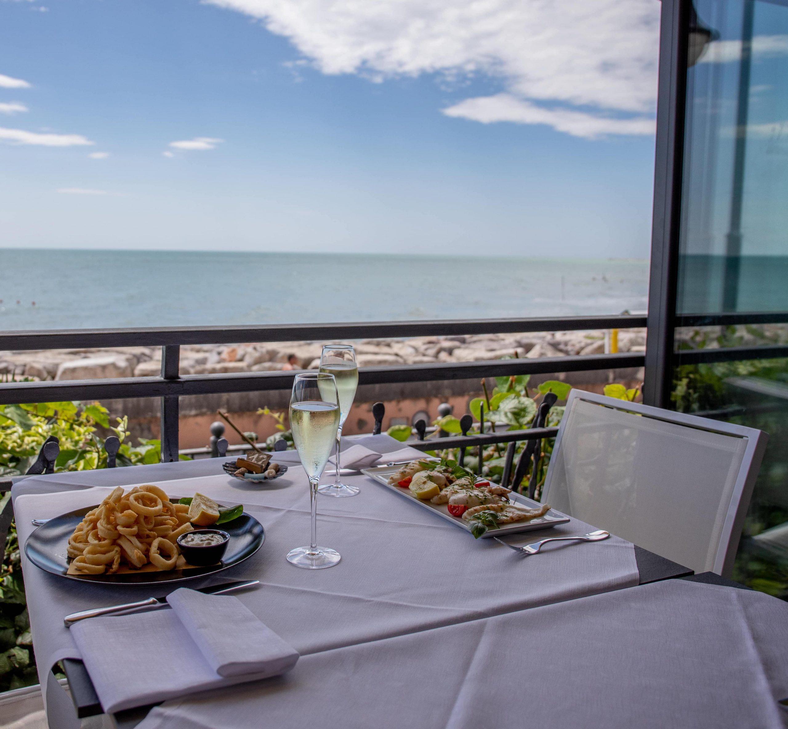 Hotel Negretto ristorante a Caorle lungomare