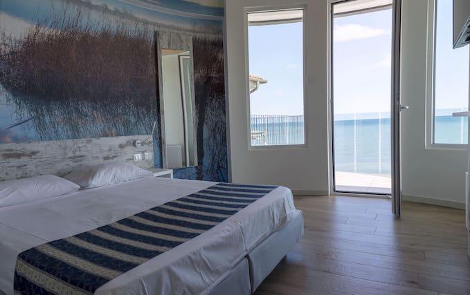 camera hotel caorle spiaggia ponente