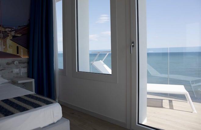 camera hotel sul mare a caorle