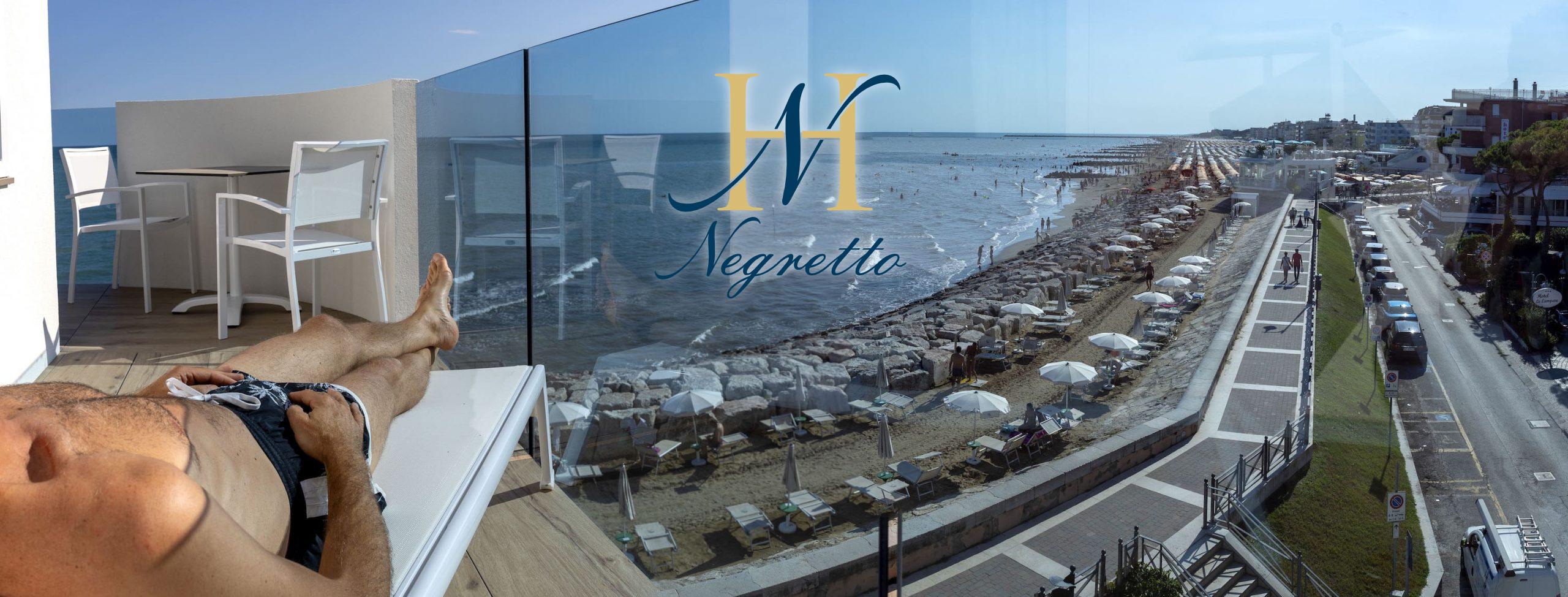 caorle hotel sul mare - hotel negretto